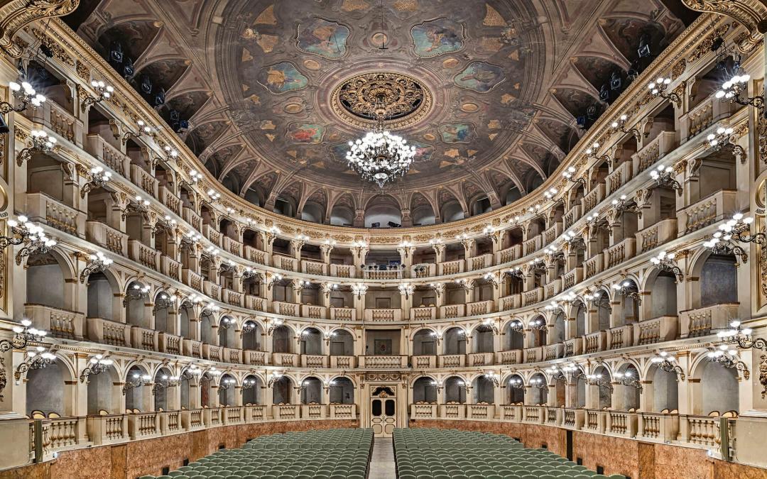 The Comunale Theatre in Bologna