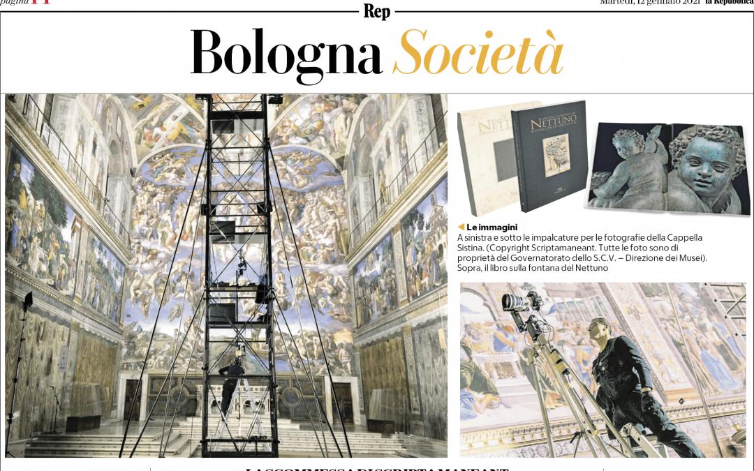 L'Intervista sul Quotidiano La Repubblica